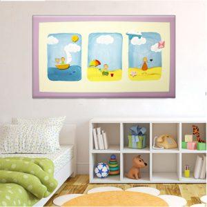 תמונה לחדר ילדים – חוף הים