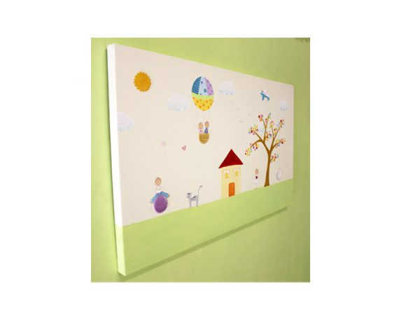 תמונה לחדר ילדים – פסטורליה מושלמת