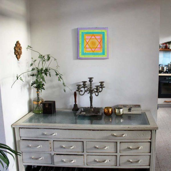 ברכת הבית מעוצבת – גווני פסטל עדינים