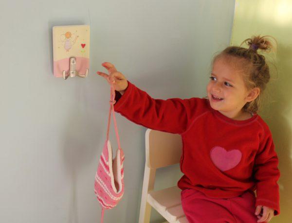 מתלה לחדר ילדות – פיה עם לב