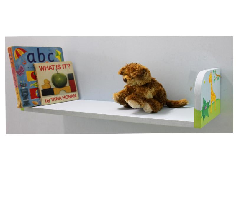 מדף לילדים בעיצוב אריה מלך החיות