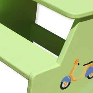 שרפרף לחדר ילדים בעיצוב אופנועים