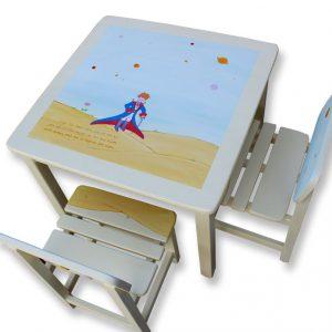 שולחן וכסאות לחדר ילדים - הנסיך הקטן