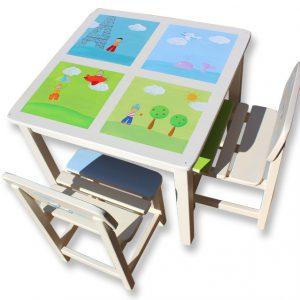 שולחן וכסאות מעוצבים לילדים - ילדים מהעולם
