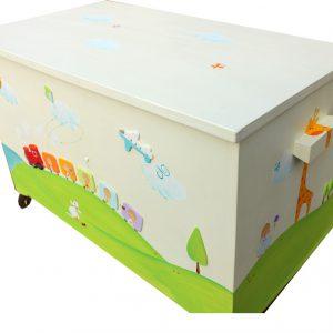 ארגז צעצועים – רכבת צבעונית