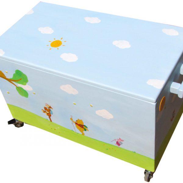 ארגז אחסון צעצועים – פו הדב וחברים