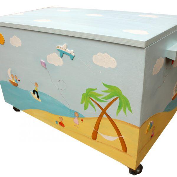 ארגז לחדר ילדים – ספורט ימי