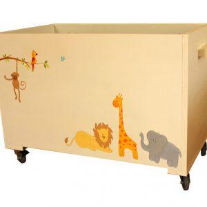 ארגז צעצועים בעיצוב חיות מתוקות