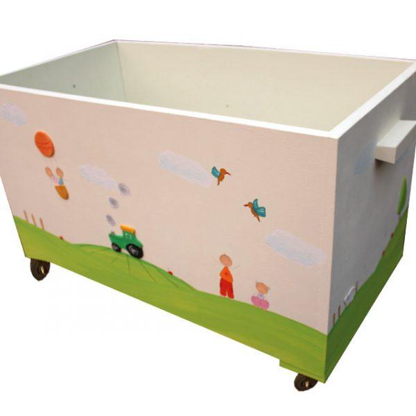 ארגז צעצועים – טרקטור בשדה