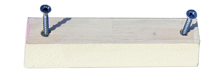 ידית מלבנית מעץ בעיצוב חזרזיר