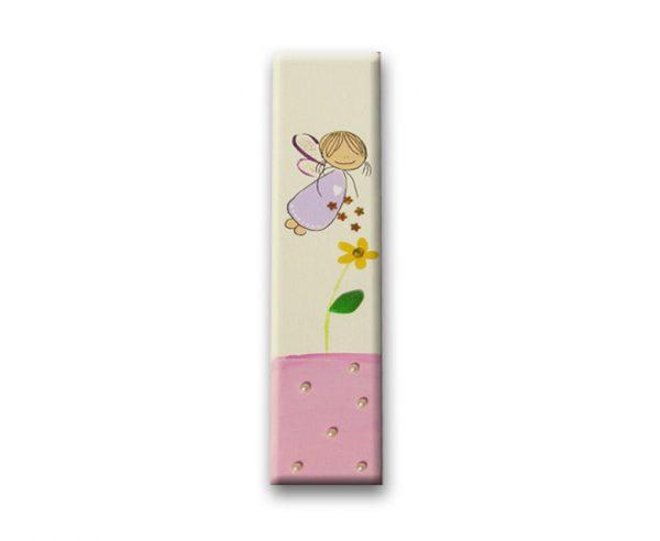 ידית לארון ילדות - פיה עם פרח