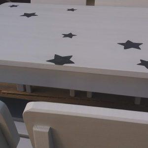 שולחן וכסאות לגן ילדים. דגם: כוכבים קסומים 7