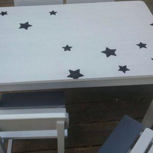 שולחן וכסאות לגן ילדים. דגם: כוכבים קסומים 5