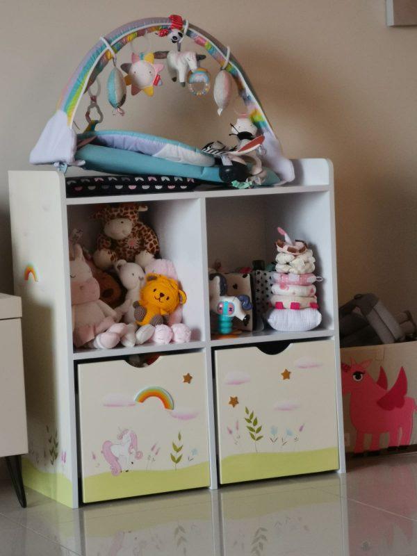 כוורת מעוצבת לחדר ילדים - דגם יוניקורן 1