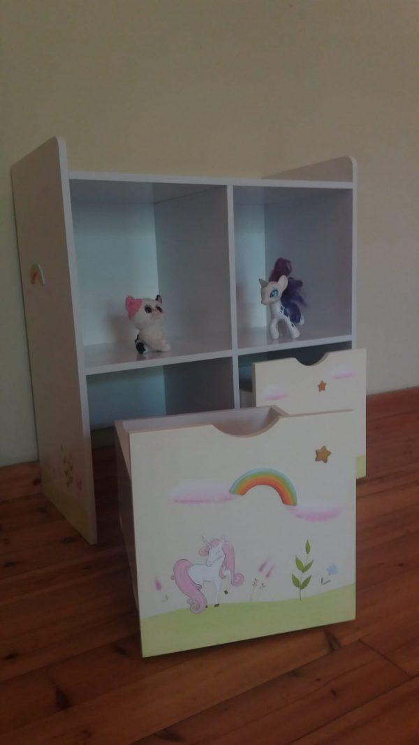 כוורת מעוצבת לחדר ילדים - דגם יוניקורן 2