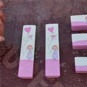 ידיות לארון ילדות. דגם: ילדות מתוקות 5