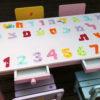שולחן וכסאות לילדים - ילדות עם פרחים צבעוניים 1