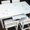 שולחן וכסאות מעוצבים לילדים - עולם המים הקסום 9