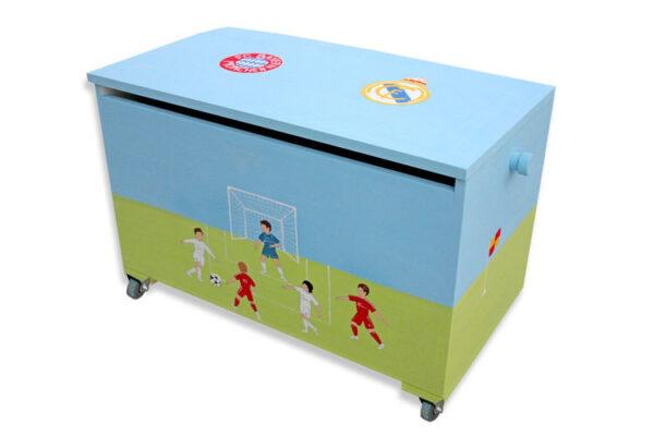 ארגז מעוצב לחדר ילדים -כדורגל - ספורט 1