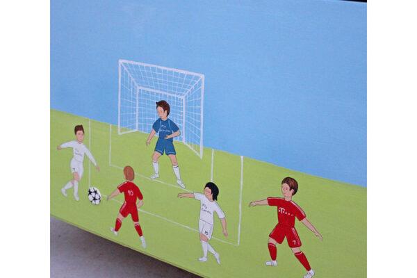 ארגז מעוצב לחדר ילדים -כדורגל - ספורט 2