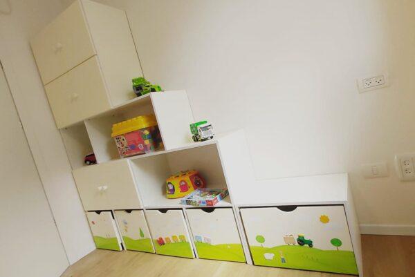 כוורת מעץ מלא למשחקים בחדר ילדים. דגם: דור. 1