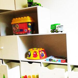 כוורת מעץ מלא למשחקים בחדר ילדים. דגם: דור. 3