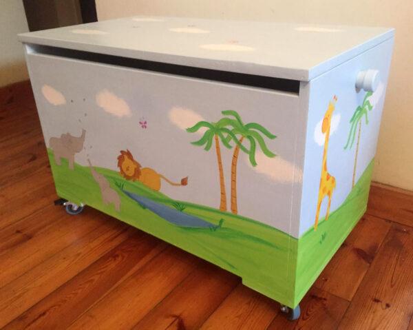 ארגז חיות הג'ונגל לחדר ילדים 1