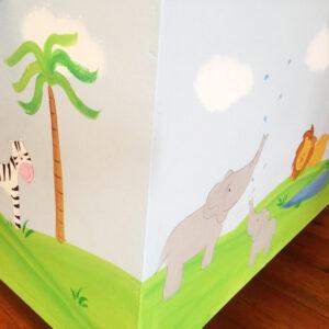 ארגז חיות הג'ונגל לחדר ילדים 7