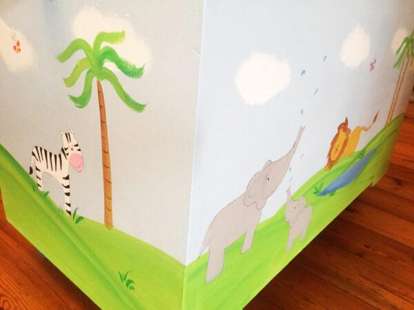 ארגז חיות הג'ונגל לחדר ילדים 3