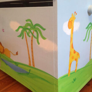 ארגז חיות הג'ונגל לחדר ילדים 6