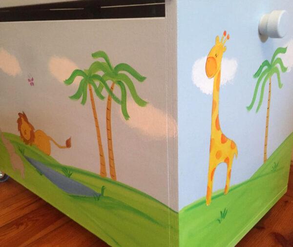 ארגז חיות הג'ונגל לחדר ילדים 2