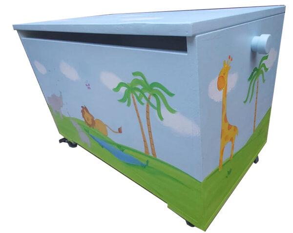 ארגז חיות הג'ונגל לחדר ילדים 4