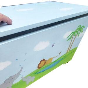 ארגז חיות הג'ונגל לחדר ילדים 9